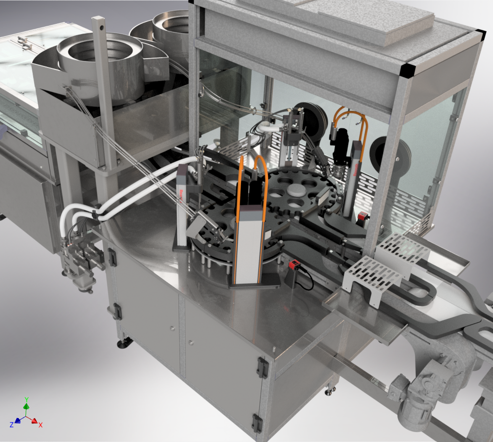 Fully Automatic Small Dose Bottling Line