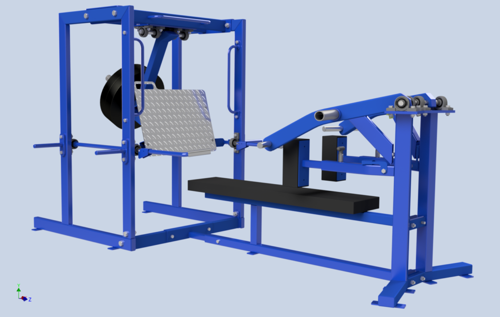 Gym Equipment – 3D Desing & Drawings